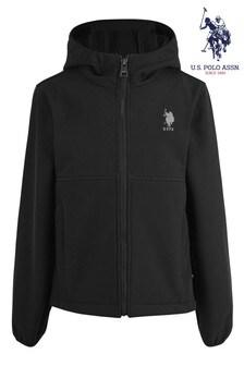 U.S. Polo Assn. Soft Shell Zip Through Jacket