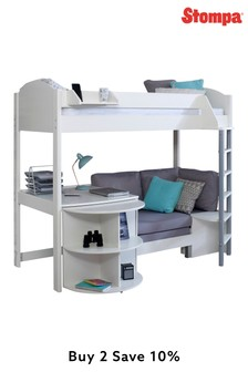 Casa D White High Sleeper By Stompa