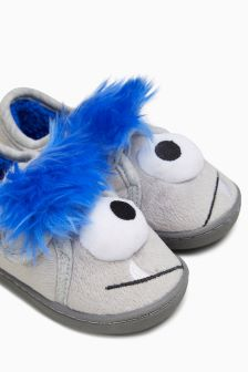 3D Monster Slippers (Younger Boys)