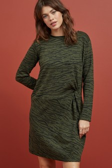 Cosy Jumper Twist Dress