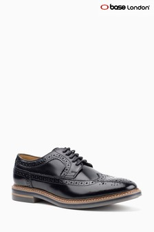 Base London® Black Turner Lace-Up Shoe