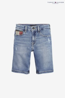 Tommy Hilfiger Boys Steve Slim Denim Short