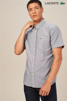 Lacoste® Short Sleeved Oxford Shirt