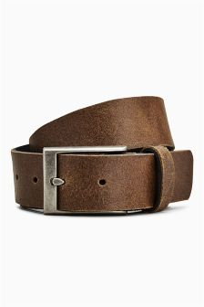 Casual Stud Detail Leather Belt