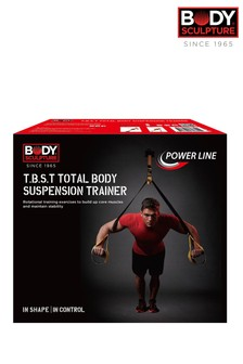 Body Sculpture Total Body Suspension Trainer With DVD