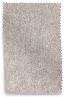 Distressed Velour Silver Fabric By The Roll