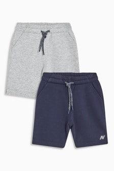 Pack de dos pantalones cortos (3-16 años)