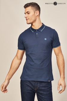 Pretty Green Barton Short Sleeve Polo
