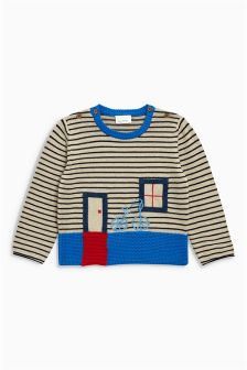 House Knitted Jumper (0mths-2yrs)