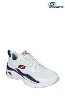 Skechers® White Energy Racer Vinton Trainers