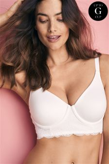 DD+ Georgie Longline Supersoft Full Cup Wired Bra