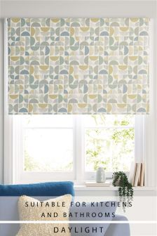 Circle Geo Daylight Roller Blind