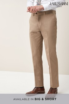 Larusmiani Signature Cotton Blend Suit: Trousers