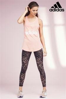 adidas Pink Essential Printed Legging
