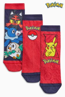 Pokémon™ Socks Three Pack (Older)