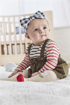 Pinafore And Bodysuit Set (0mths-2yrs)