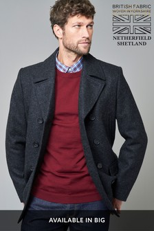 Netherfield Tweed Signature Reefer Coat