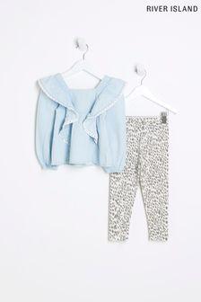 F&F Black Pin Stud Sandal