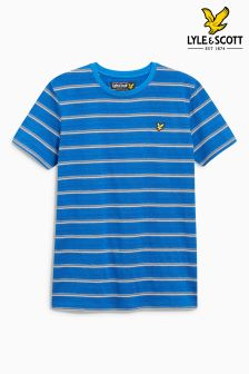 Lyle & Scott Birdseye Stripe T-Shirt
