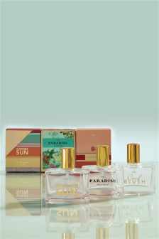 Set of 3 Summer 30ml Eau De Parfum