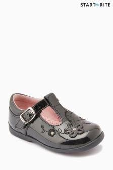 Start-Rite Black Sunflower Shoe