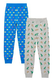 Printed Joggers Two Pack (3-16yrs)
