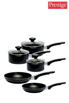 5 Piece Prestige Aluminium Pan Set