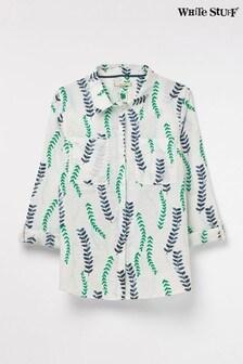 White Stuff Sprig Linen Shirt