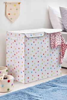 Polka Dot Sorter Storage