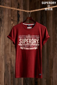 Superdry Re-worked Classic Appliqué T-Shirt