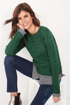 Shirt Layer Sweater