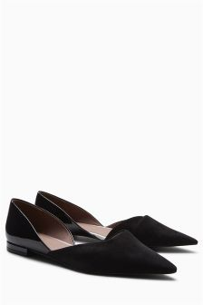 Two Part Pointed Shoes