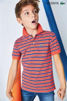 Lacoste® Fine Stripe Polo