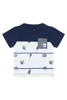 Timberland Baby Boys Grey Cotton T-Shirt