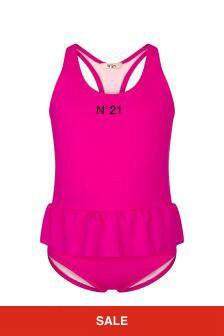 N°21 Girls Pink Beachwear