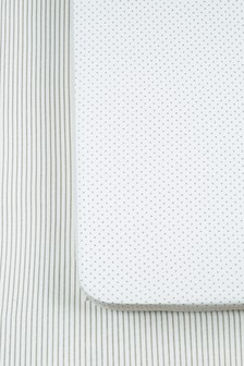 2 Pack Collection Luxe Jersey Fitted Sheet
