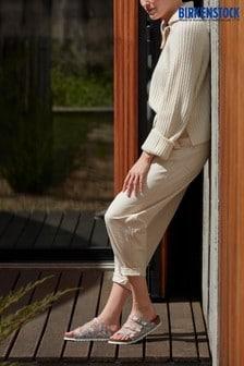 Birkenstock® White Floral Sandals