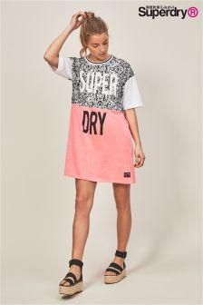 Superdry Fluorescent Boyfriend T-Shirt Dress