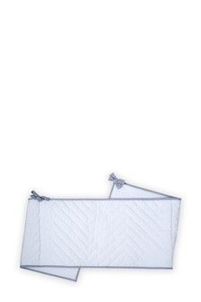 Collection Luxe Waffle Cot Bumper