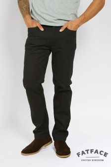 FatFace Black Corby Trouser