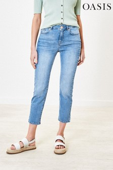 Oasis Blue Maisey Pale Jeans
