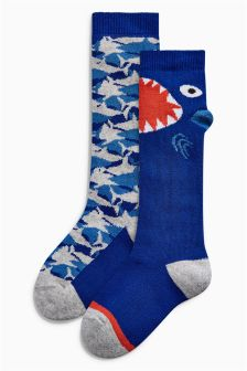 Character Welly Socks Two Pack (Younger)
