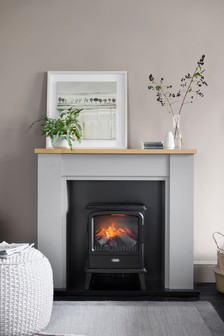 Malvern Grey Fireplace Surround
