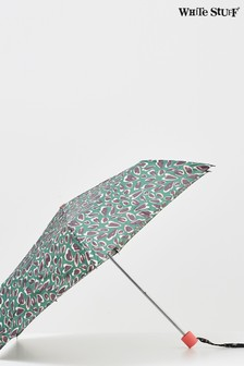 White Stuff Brown Recycled Material Umbrella