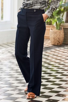 Womens Formal Wide Leg Trousers | High Waisted Trousers