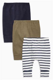 打底裤三件装 (0个月-2岁)
