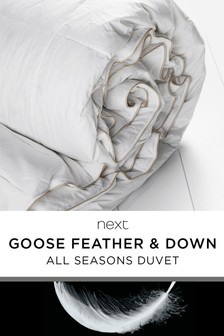 Goose Feather And Down All Season Duvet
