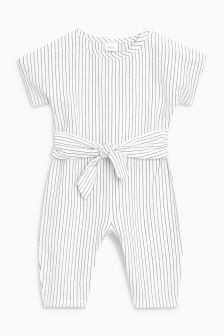 Sash Striped Playsuit (3mths-6yrs)