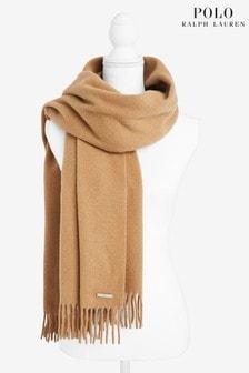 Lauren Ralph Lauren® Camel Recycled Wool Scarf