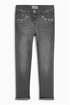 Eyelet Skinny Jeans (3-16yrs)